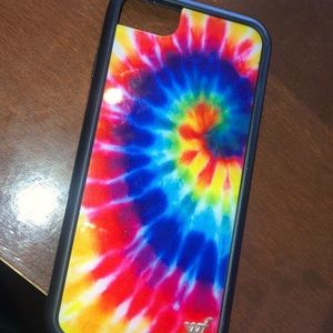 tie dye wildflower case